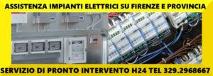 Assistenza 24 Ore Impianti Elettrici Su Firenze e Provincia